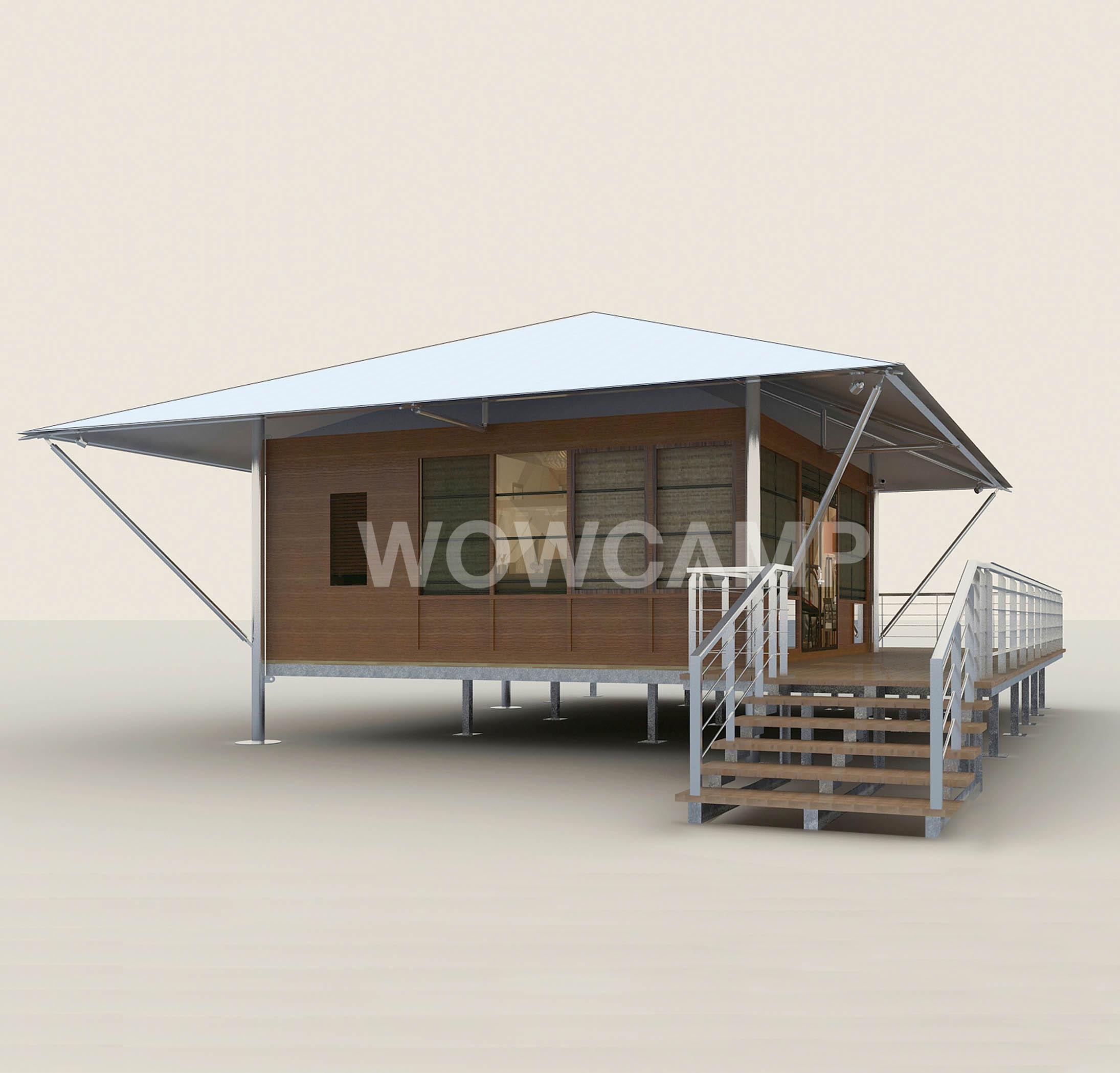 融入自然的帐篷酒店