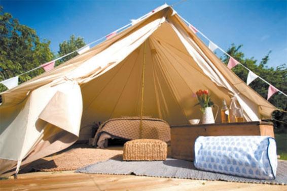 帐篷酒店 - 营地规划_木屋别墅