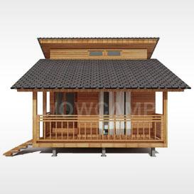 具有自然灵魂的木屋(2)