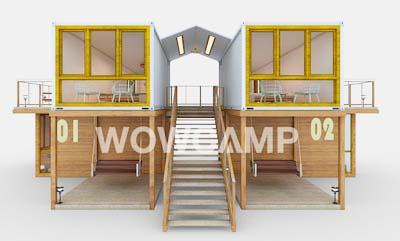集装箱酒店,营地规划
